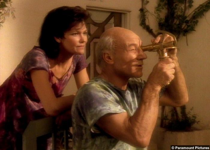 Star Trek Tng Inner Light Patrick Stewart Jean Luc Picard