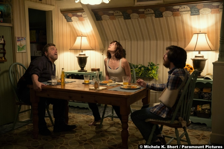 Cloverfield Lane John Goodman John Gallagher Jr Mary Elizabeth Winstead