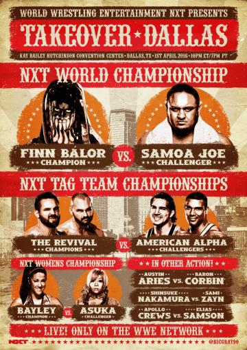 Nxt Dallas Poster