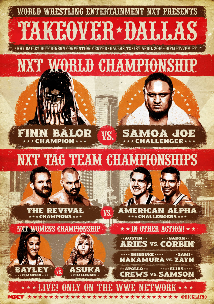 Nxt Dallas Poster