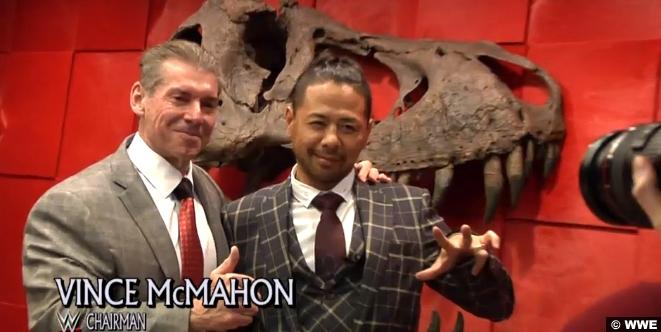 Shinsuke Nakamura Vince Mcmahon