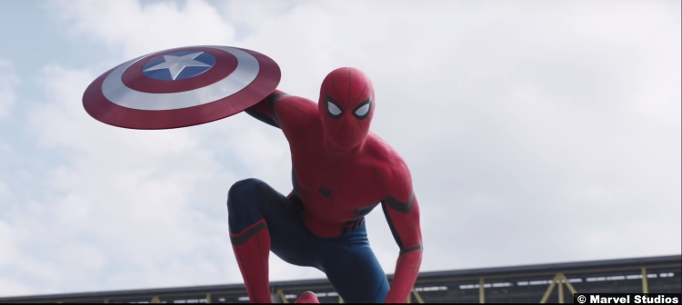 Captain America Civil War Spiderman Trailer