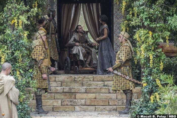 Game Of Thrones S6 2 Prince Doran Ellaria Sand Indira Varma Alexander Siddig