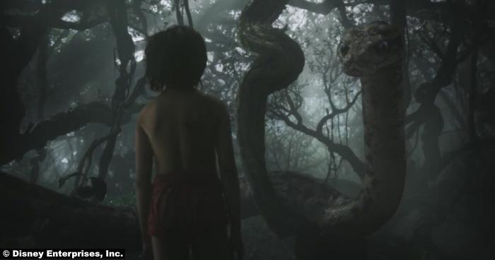 Jungle Book Neel Sethi Mowgli Kaa