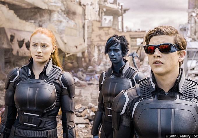 X Men Apocalypse Sophie Turner Jean Grey Tye Sheridan Cyclops Kodi Smit Mcphee Nightcrawler