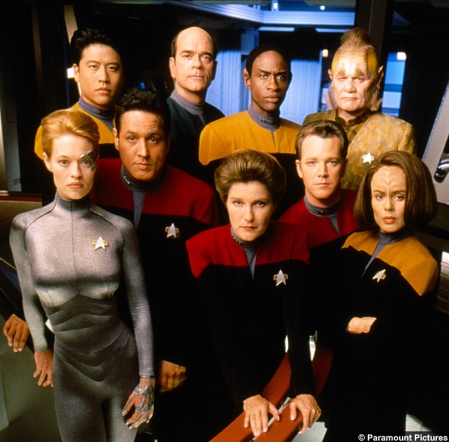 Star Trek Voyager Crew
