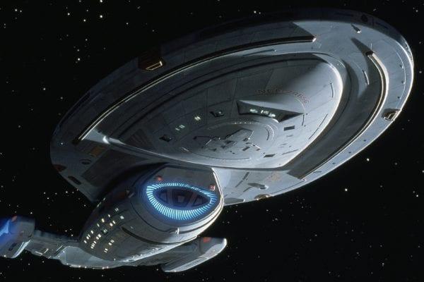 Star Trek Voyager Ship