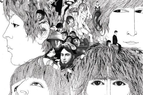 Beatles Revolver Album Cover