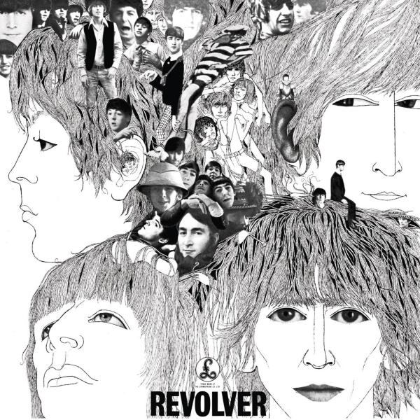 Beatles Revolver Album Cover