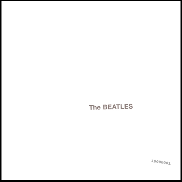 Beatles White Alum Cover