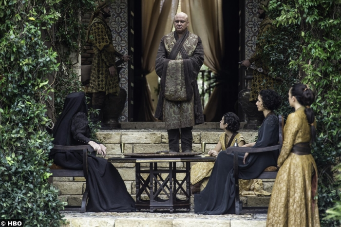 game-of-thrones-s6-e10-conleth-hill-varys-ellaria-sand-indira-varma--diana-rigg-olenna-tyrell