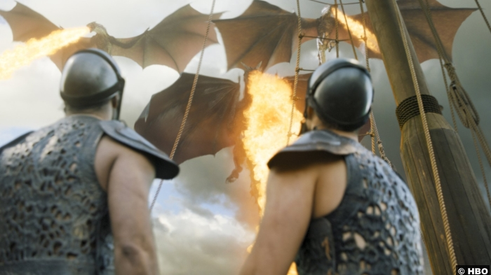 Game Of Thrones S6 E9 Meereen Dragon
