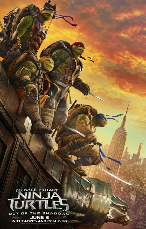 Teenange Mutant Ninja Turtles Shadows Poster