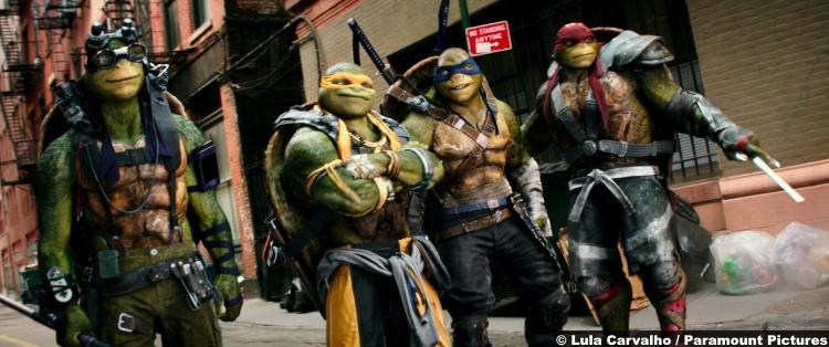 Teenange Mutant Ninja Turtles Shadows