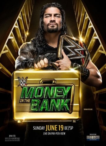 Wwe Money In The Bank 2016 Poster