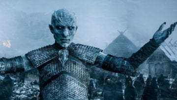 Game Thrones Whitewalkers Night King Bg