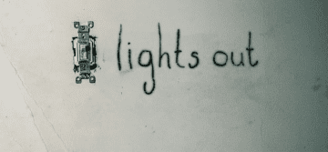 Lights Out Poster 4