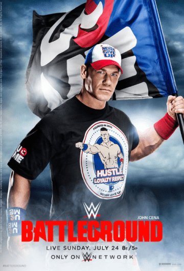 Wwe Battleground 2016 Poster