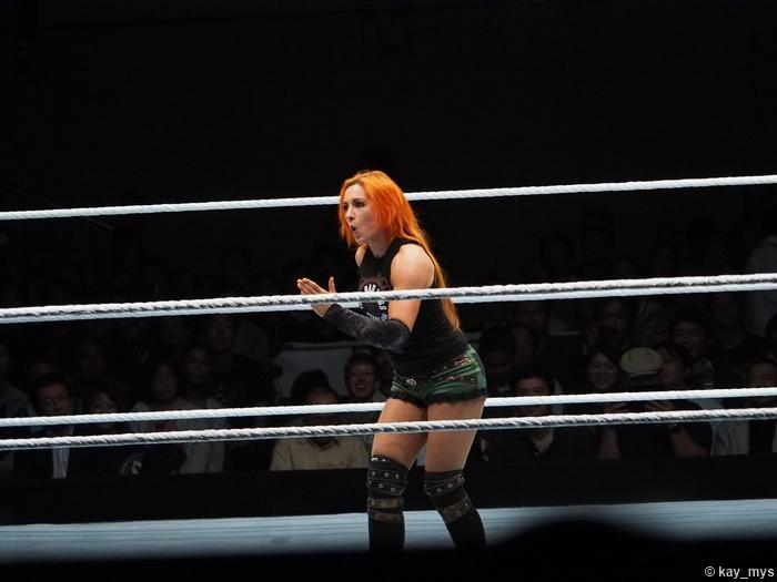 01072016 Becky Lynch 4 Rick Flair Walk