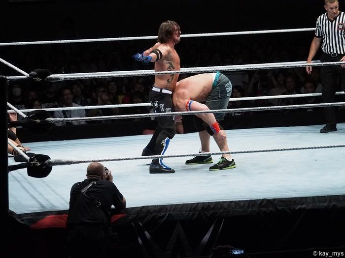 02072016 Aj Styles John Cena