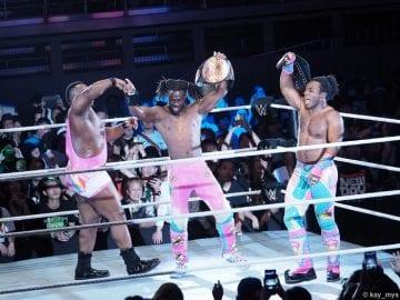 02072016 New Day Big E Kofi Kingston Xavier Woods Tag Team Title Belt