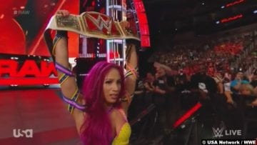Sasha Banks Womens Title Championship Belt