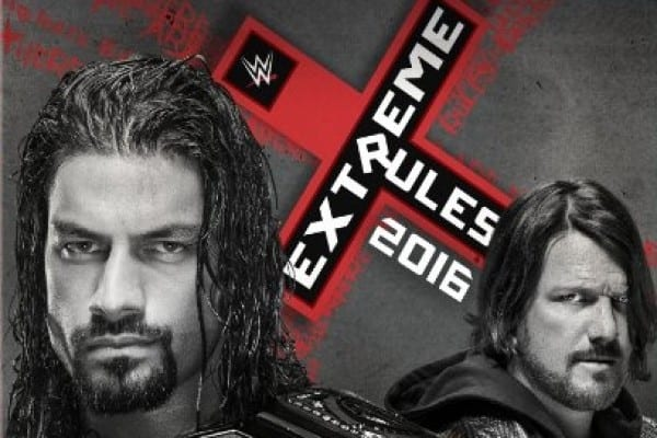 Wwe Extreme Rules 2016 Dvd Cover