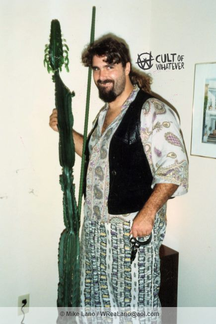 Mick Foley with Cactus