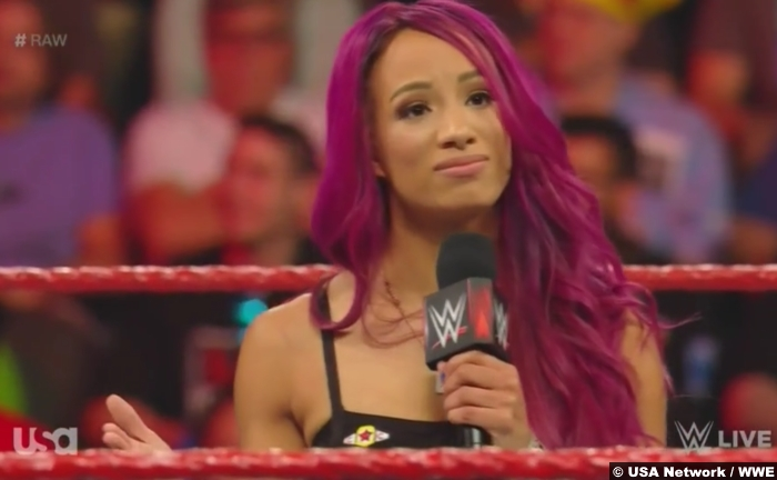 Sasha Banks Retirement Swerve