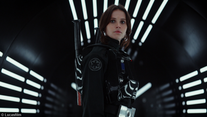 Star Wars Rogue One Felicity Jones Jyn Erso