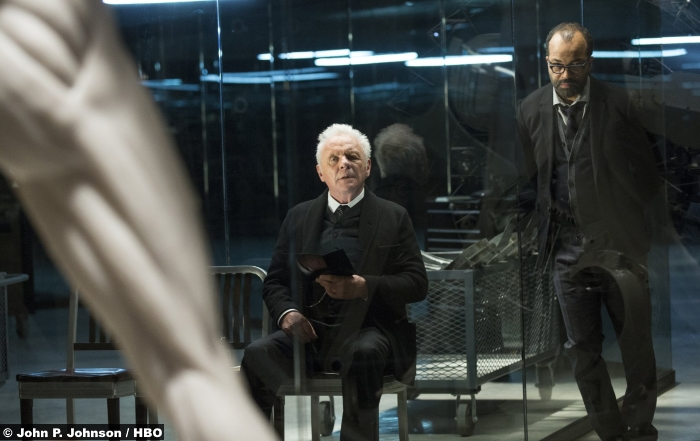 Westworld Anthony Hopkins Jeffrey Wright