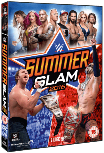 Wwe Summerslam 2016 Dvd Cover