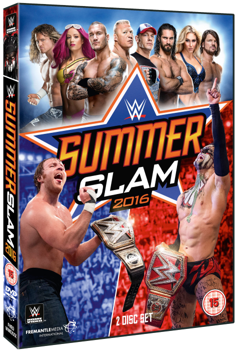Wwe Summerslam 2016 Dvd Cover