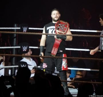 07092016 Kevin Owens Universal Title Belt