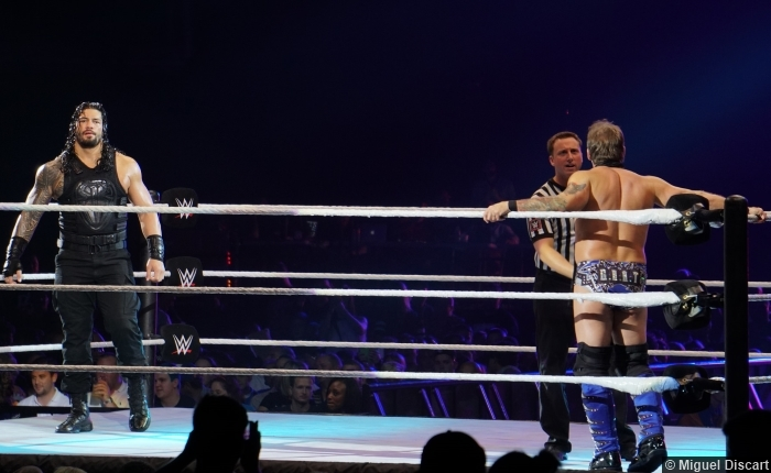 07092016 Roman Reigns Chris Jericho 4
