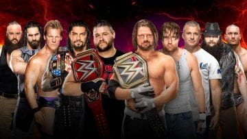Raw Smackdown Survivor Series 2016 Match