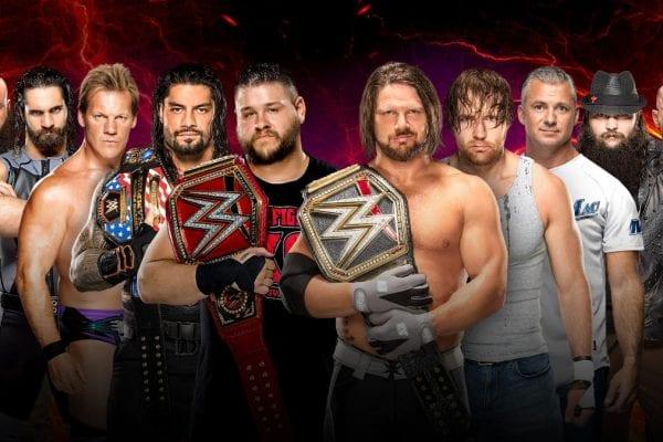 Raw Smackdown Survivor Series 2016 Match