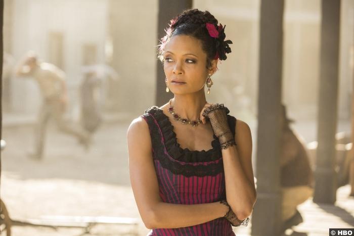 Westworld S01e08 Thandie Newton Maeve Millay