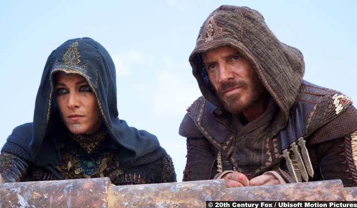 Assassins Creed Cal Lynch Aguilar Michael Fassbender Maria Ariane Labed