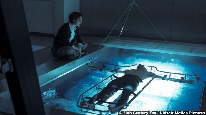 Assassins Creed Cal Lynch Aguilar Michael Fassbender Sofia Marion Cotillard