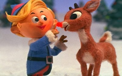 Bg Rudolph Red Nosed Reindeer 1964