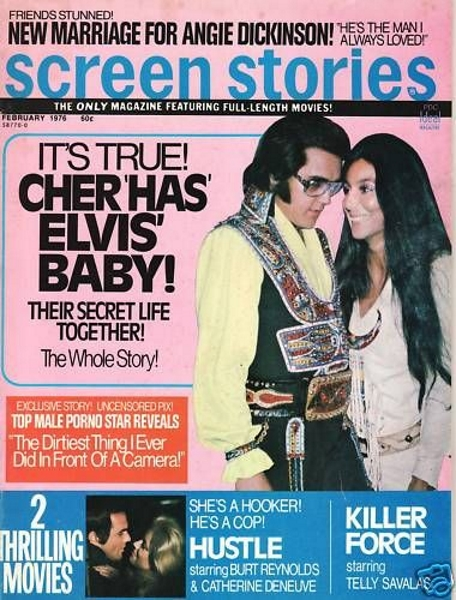 Elvis Magazine Cover 1976