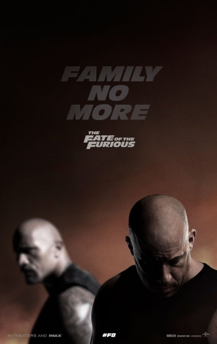 F8 Fate Furious Poster