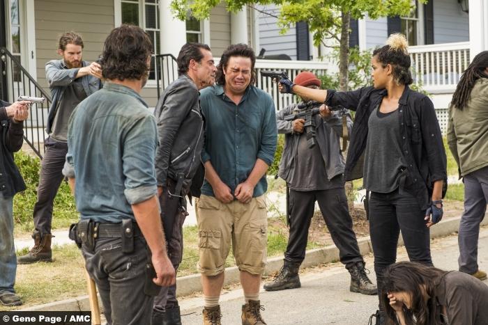 Walking Dead S07e08 Josh Mcdermitt Elizabeth Ludlow Eugene Arat Negan