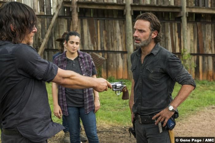 Walking Dead S07e08 Ric Grimes Daryl Dixon