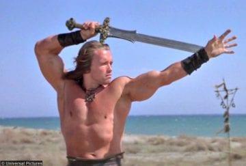 Conan Barbarian Arnold Schwarzenegger 2