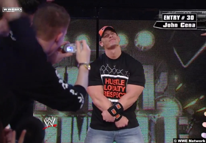 John Cena Royal Rumble 2008