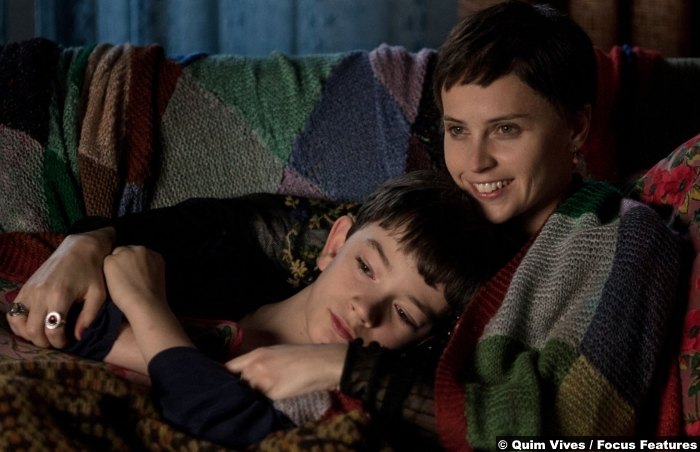 Monster Calls Lewis Macdougall Felicity Jones 2
