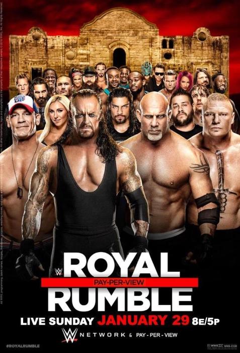 Royal Rumble 2016 Poster