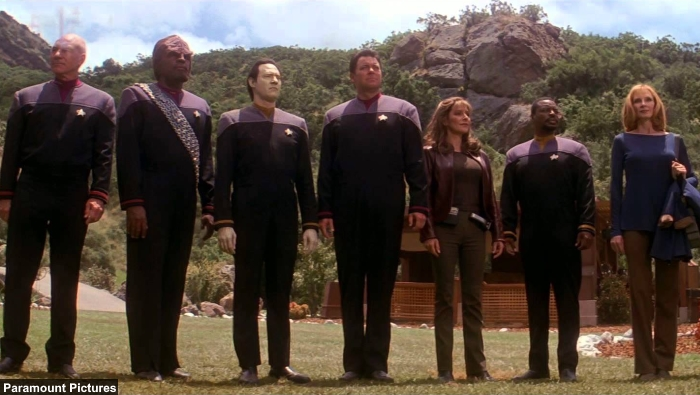Star Trek Insurrection Crew